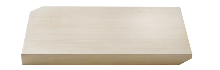 木曽檜高級まな板の写真