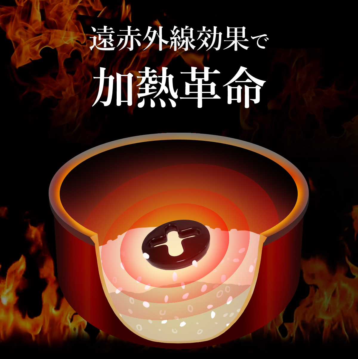 遠赤外線調理器具炊飯名人たける